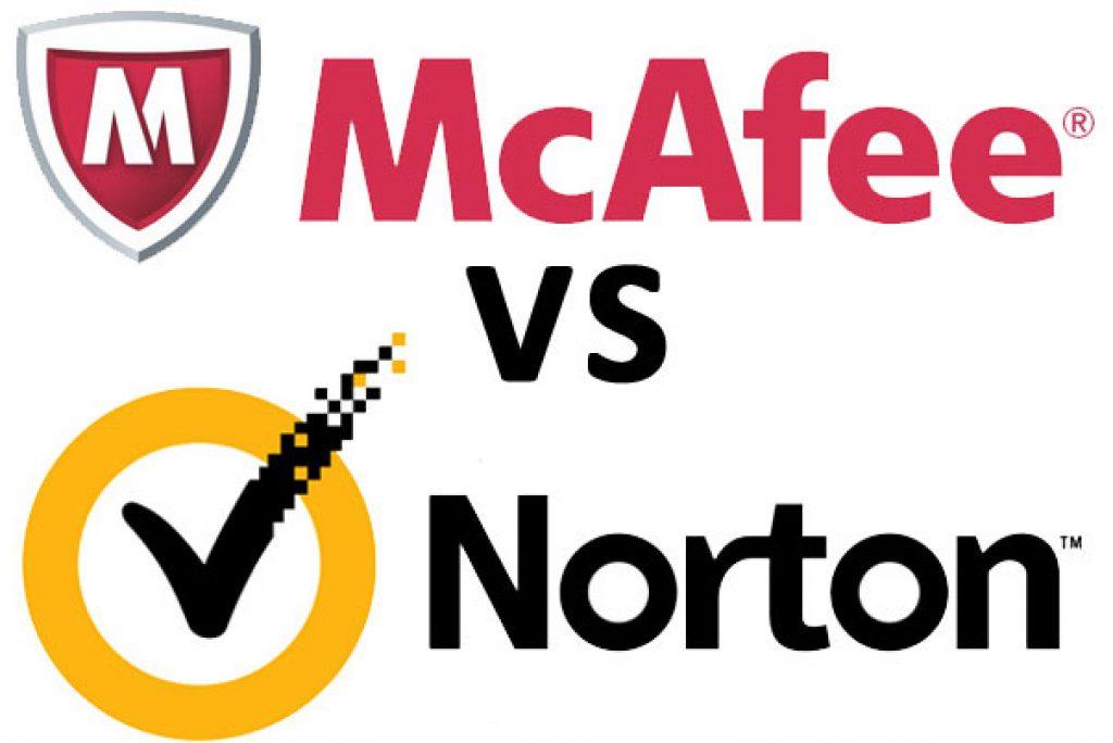 Free Antivirus McAfee vs Norton
